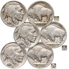 UNITED STATES Coin BUFFALO NICKELS