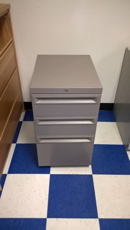 Miscellaneous Furniture 3 DRAWER MOBILE FILE CABINET