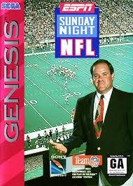 SEGA Sega Game SUNDAY NIGHT NFL
