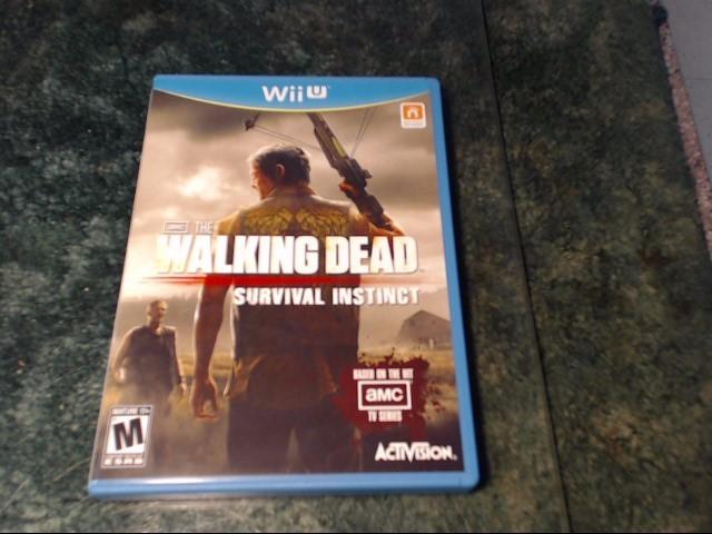 NINTENDO Nintendo Wii U Game THE WALKING DEAD SURVIVAL INSTINCT