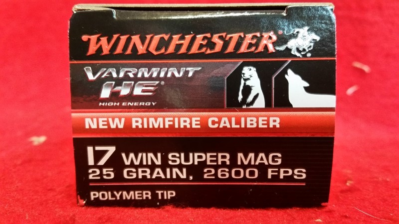 WINCHESTER Ammunition 17 WIN SUPER MAG VARMINT HE