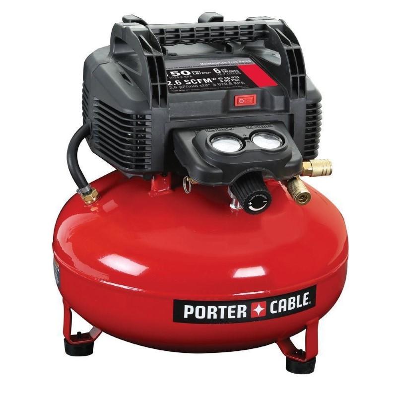 PORTER CABLE Air Compressor 6 GALLON AIR COMPRESSOR