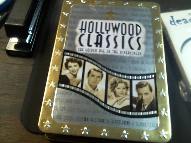 HOLLYWOOD DVD CLASSICS THE GOLDEN AGE OF THE SILVERSCREEN