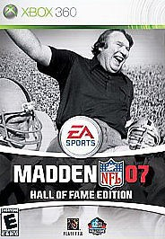 MICROSOFT Microsoft XBOX 360 Game MADDEN 07 HALL OF FAME EDITION