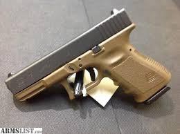 GLOCK Pistol G23 G3 FDE 40S&W