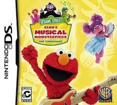 NINTENDO Nintendo DS Game SESAME STREET ELMOS MUSICAL MONSTER PIECE DS