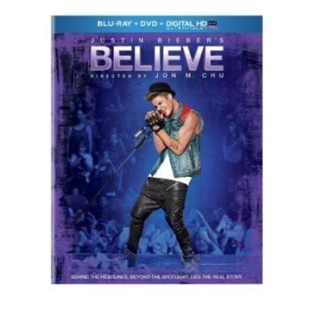BLU-RAY MOVIE Blu-Ray JUSTIN BIEBER'S BELIEVE