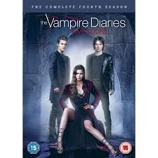 DVD BOX SET DVD THE VAMPIRE DIARIES SEASON 4
