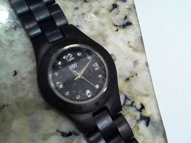 WEWOOD Lady's Wristwatch MOON DENEB BLACK