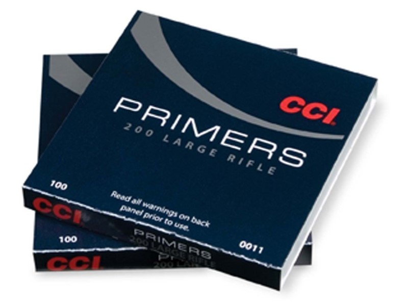 CCI AMMO Ammunition LARGE RIFLE PRIMERS