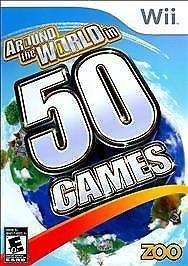 NINTENDO Nintendo Wii Game AROUND THE WORLD IN 50 GAMES WII