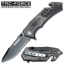 TACTICAL FORCE Pocket Knife TF-553GY