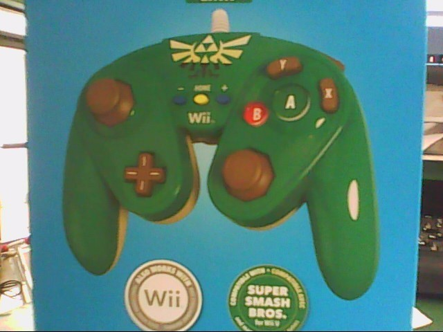 NINTENDO Nintendo Wii U Game WII U SUPER SMASH BROS CONTROLLER