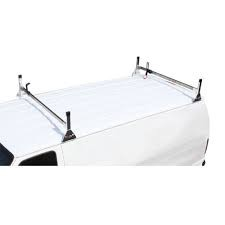 CROSS TREAD LADDER RACK FOR A VAN