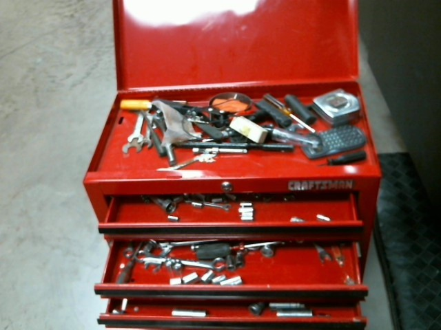 CRAFTSMAN Tool Box with Tools TOOLBOX WITH TOOLS