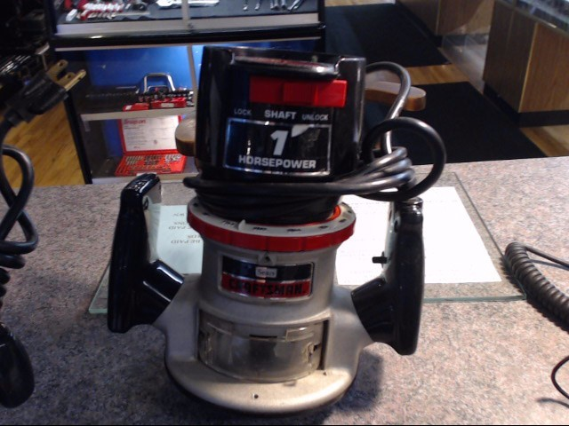 CRAFTSMAN Router ROUTER 315.17460