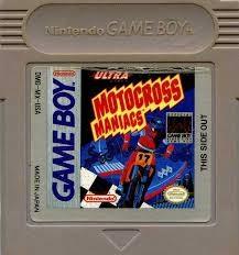 NINTENDO Vintage Game GAMEBOY MOTOCROSS MANIACS