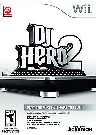 NINTENDO Video Game System WII DJ HERO 2