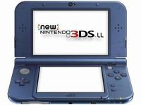 NINTENDO Video Game System 3DS XL - HANDHELD GAME CONSOLE