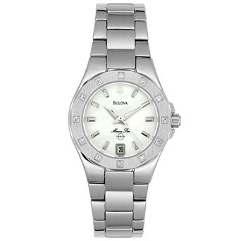 BULOVA Lady's Wristwatch MARINE STAR C876742