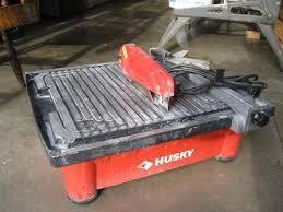 HUSKY Tile Saw THD750L TILE SAW