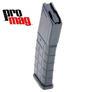 PRO MAG Clip/Magazine AR-15 30 RD BLACK POLYMER MAGAZINE