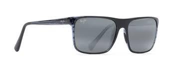 MAUI JIM Sunglasses MJ705-03S Blue Stripe/Grey Polarized