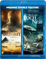 BLU-RAY MOVIE Blu-Ray DOUBLE FEATURE TALE OF THE MUMMY BENEATH LOCHNESS