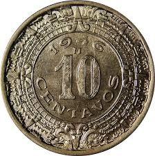 MEXICO Silver Coin 1936 - 10 CENTAVOS