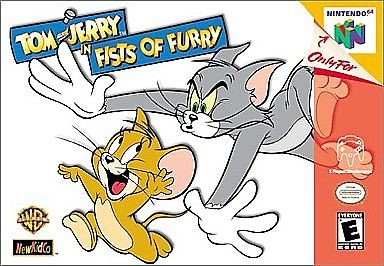 NINTENDO Nintendo 64 Game TOM AND JERRY IN FISTS OF FURRY