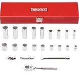 PROTO TOOLS Sockets/Ratchet 22 PIECE SOCKET AND RACHET SET