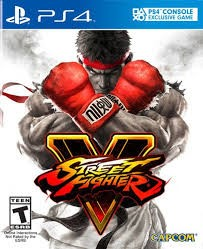 SONY Sony PlayStation 4 Game PS4 STREET FIGHTER 5