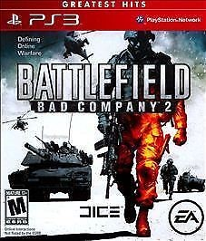 SONY Sony PlayStation 3 Game BATTLEFIELD BAD COMPANY 2 GREATEST HITS