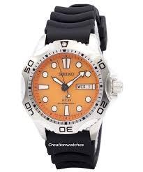 SEIKO Gent's Wristwatch SOLAR 200MM DIVERS WATCH