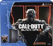 SONY PlayStation 4 PLAYSTATION 4 - SYSTEM - CUH-1215A - BLACK OPS III
