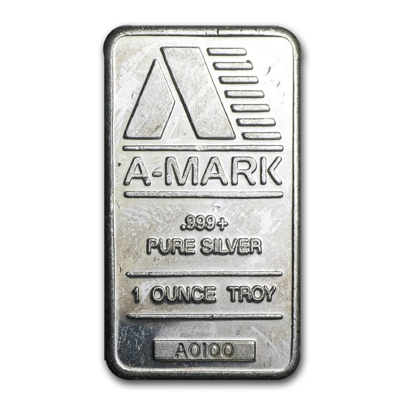 A-MARK Silver Bullion 1 OUNCE TROY - SILVER BAR