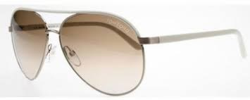 TOM FORD Sunglasses TF112 Silvano white/brown