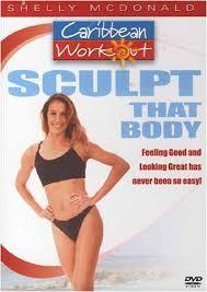 DVD MOVIE DVD SCULPT THAT BODY - CARIBBEAN WORKOUT