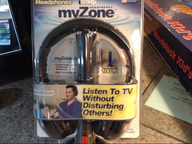 MYZONE Headphones WIRELESS TV HEADPHONES