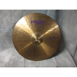 PAISTE Cymbal POWER RIDE 20""