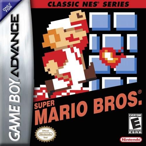 NINTENDO Nintendo GBA Game CLASSIC NES SERIES SUPER MARIO BROS GBA