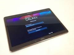 SAMSUNG Tablet SM-T800UD TITANIUM BRONZE W/KEYBOARD AND CASE