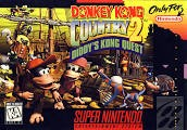 NINTENDO Nintendo SNES Game DONKEY KONG COUNTRY 2 DIDDYS KONG QUEST