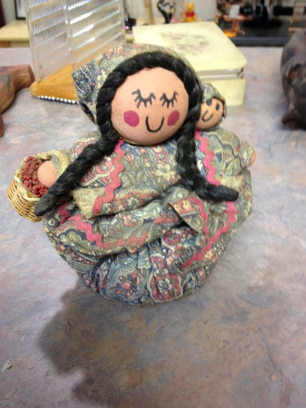 PIN CUSHION Collectible Plate/Figurine DOLL