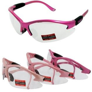 GLOBAL VISION EYEWEAR Miscellaneous Safety Gear COUGAR PINK CL