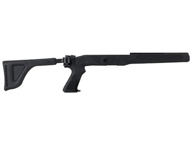 Choate - Folding Rifle Stock - Ruger Mini 14/30 - Black Synthetic
