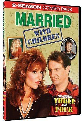 DVD BOX SET DVD MARRIED WITH CHILDREN SEASONS 3 & 4