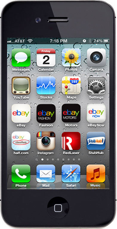 APPLE Cell Phone/Smart Phone IPHONE 4S MD378LL/A