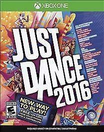 UBISOFT Microsoft XBOX One Game JUST DANCE 2016
