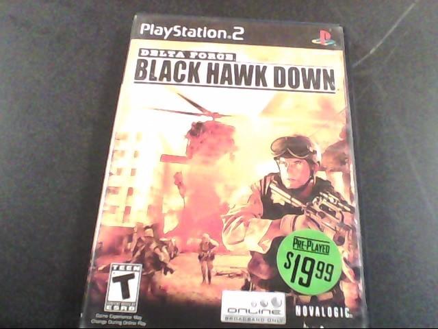 SONY Sony PlayStation 2 Game DELTA FORCE BLACK HAWK DOWN